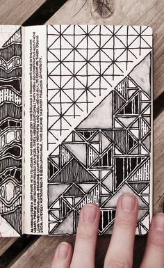 Northern Irish / Graphic Design Student / I Like Drawing / I Like Taking Photographs / All Original Content / Doodle Patterns, Zentangle Patterns, Zentangles, Sketchbook Inspiration, Bullet Journal Inspiration, Doodle Drawings, Doodle Art, Gcse Art Sketchbook, Fashion Sketchbook