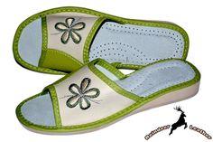 Wendy Soft Spot Green Mule