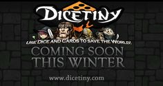 DICETINY, a fantasy RPG board game we're planning to launch on Steam Early Access this winter. We're also planning to launch a Kickstarter campaign either in this September or October Our fingers are crossed! =_( If you mix up dungeon crawler, board game like Monopoly, and card collecting like Hearthstone into one game, you get Dicetiny.