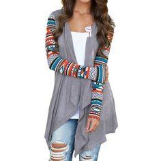 ipretty Herbst Damen Blazer Damen Fashion blazer damen Cover Damen Kimono Cardigan Outwear