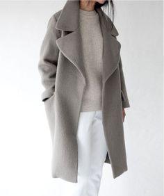 Пальто-кокон (113 фото): с чем носить, с какой обувью надевать, пальто-кокон 2016, серое, с капюшоном, длинное, кому идет, бежевое