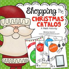 Christmas Math Project - Shopping the Catalog by Kristine Nannini 5th Grade Classroom, Middle School Classroom, Early Finishers Activities, Class Activities, Christmas Math, Christmas Activities, Common Core Math Standards, Math Questions, Making A Budget