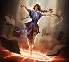 A Wizard's Apprentice by klee42 on DeviantArt