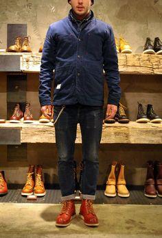 #RedWing Shoes Korea Coordination