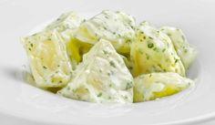 Patatas con salsa de alioli. Receta típica de tapeo | Recetas de Cocina Casera