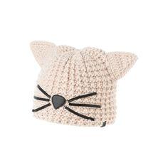 KARL LAGERFELD Choupette-Mütze Karl Lagerfeld Choupette, Sea Shells, Baby Shoes, Winter Hats, Presents, Beanie, Fun, Kids, Clothes