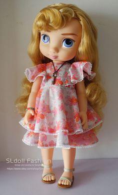 Disney Animator doll Clothes dress for Disney Animator doll BY SLDOLLFASHION