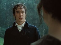 """You have bewitched me, body and soul, and I love, I love, I love you. I never wish to be parted from you from this day on."" --Mr. Darcy ... I LOVE Matthew Macfadyen."