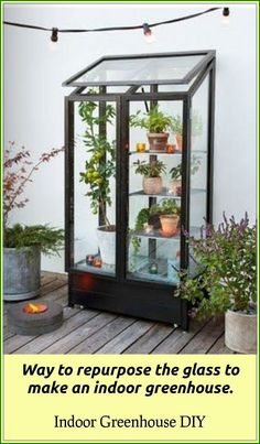 To determine value in every situation it is necessary to think about your climate together with how you will use the greenhouse. If you're considering starting a greenhouse, now's the moment. A greenhouse is an investment so that it is … Greenhouse Kits For Sale, Indoor Greenhouse, Greenhouse Growing, Indoor Garden, Indoor Plants, Home And Garden, Herb Garden, Greenhouse Ideas, Shabby Chic Decorating