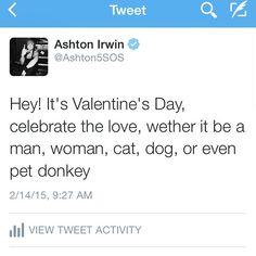 Happy Valentines Day everyone, my valentine is Vegemite! :D x