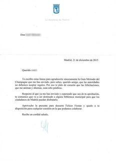 Esto es lo que contesta Manuela Carmena tras recibir un regalo material. Bravo. Chart, History, Mouths, Gift, Universe, News