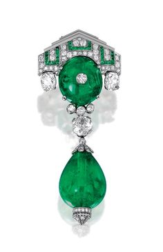 Do you love this? Emerald Brooches