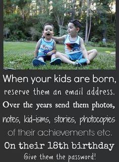 Cute idea for future kids