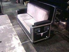 Road case sofa