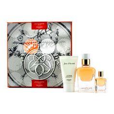 Hermes Jour D'Hermes Absolu Coffret: Eau De Parfum Refillable Spray 50ml/1.6oz + Eau De Parfum Miniature 7.5ml/0.25oz + Body Lotion 30ml/1oz - Perfume & Women's Fragrances - StrawberryNET.com (USA)
