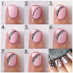 How To Do Nail Art Designs Step By Step Tutorial(Diy Step Website)