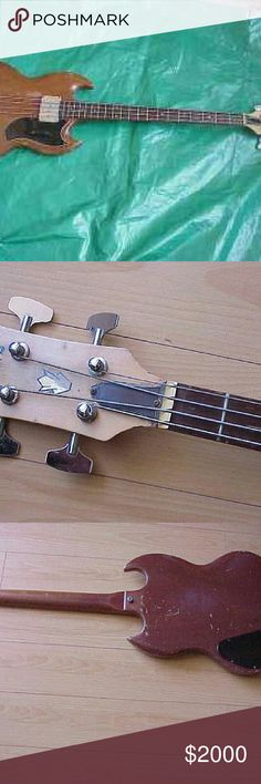 Vintage 1966 Gibson eb-0 electric bass guitar Highly collectable! ! Comes without a original case  (in a nice soft case ). Plays great.  Tons of tone! Gibson  Other