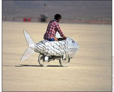 Fish Bicycle - Photo by Scott London