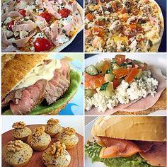Lanchinhos Light ~ PANELATERAPIA - Blog de Culinária, Gastronomia e Receitas