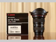 Canon EF 16-35mm f/2.8L ll USM Zoom Lens for Canon EF New