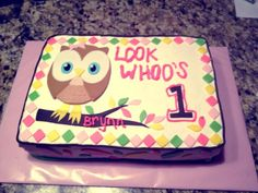 Owl First Birthday! Look Whoo's 1!!
