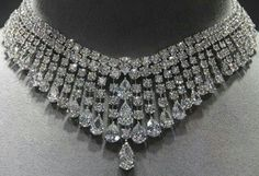 Graff diamond necklace.