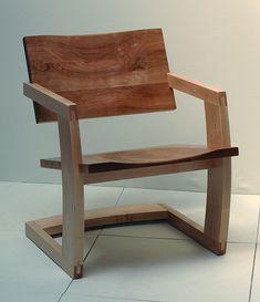 Palo Alto Low Chair cherry