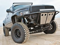 Dream racer <3. #dodge #cummins #baja #mean #big #mean #jumping #turbo #intercooled #awesome