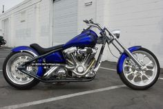 2004 Big Dog Pitbull Anniversary Edition Custom Pro - Street Chopper Motorcycle Lr Big Dog photo