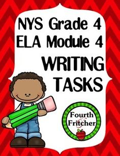Looking for more ways to incorporate writing into the modules? Then this pack is for you!This ELA Module 4 Writing Tasks Pack includes 9 tasks aligned with the Module 4 texts and the NYS Writing Standards.You will get:3 writing tasks aligned to the texts used in Unit 1 regarding Susan B.