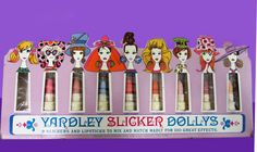1960s Yardley Slicker Dollys... Cool sixties period collectible that sold for way over $100 on ebay in December 2016.