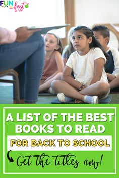 It's hard to believe, but back to school is right around the corner and now is the time to start preparing your books and lessons! In this post, I'm sharing a list of my top 20 favorite books to read aloud to primary students at the beginning of the school year! Get these titles now, and learn more about what lessons you can teach while reading each one!