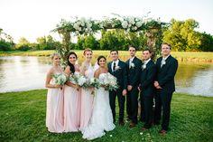 bridal party, bride groom, bridesmaids, groomsmen