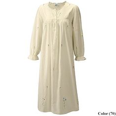 Rose's white sleeping gown
