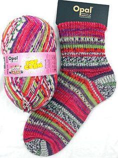Opal Sock Yarn - 4 Ply Multicolors