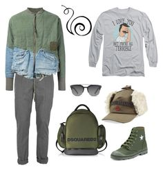 """Без названия #232"" by uleetka ❤ liked on Polyvore featuring Dondup, Greg Lauren, Givenchy, Dsquared2, Dolce&Gabbana, men's fashion and menswear"