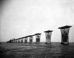 El puente sobre el Lago de Maracaibo fue nombrado en honor del General Rafael Urdaneta, héroe zuliano de la independencia de Venezuela. | Créditos: Archivo Cadena Capriles