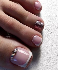 Spring Pedicure Colors Cute Toes Super Ideas - Nailed it! Pretty Toe Nails, Cute Toe Nails, My Nails, Polish Nails, Toe Nail Color, Toe Nail Art, Nail Colors, Shellac Pedicure, Pedicure Colors