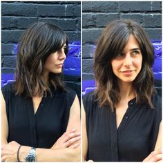 On that texturized long blunt bob like whoa. For and her amazing ? (at VAIN) On that texturized long blunt bob like whoa. For and her amazing ? (at VAIN) Medium Bob Hairstyles, Hairstyles With Bangs, Pretty Hairstyles, Lob With Bangs, Blunt Haircut With Layers, Men's Hairstyle, Formal Hairstyles, Haircuts, Wedding Hairstyles