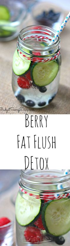 I have been drinking this detox for 2 weeks and I have lost 5 pounds! Berry Fat Flush Detox Recipe