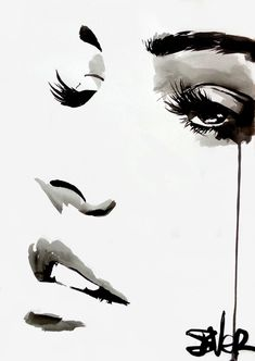 View LOUI JOVER's Artwork on Saatchi Art. Find art for sale at great prices from artists including Paintings, Photography, Sculpture, and Prints by Top Emerging Artists like LOUI JOVER. Watercolor Portraits, Watercolor Paintings, Oil Paintings, Art Drawings Sketches, Unique Drawings, Ink Painting, Ink Art, Portrait Art, Face Art