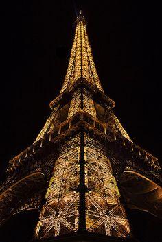 Eiffel Tower - Tour Eiffel by Geoffrey Gilson Eiffel Tower Tour, Eiffel Towers, Places To Travel, Places To See, Places Around The World, Around The Worlds, Torre Eiffel Paris, Paris Wallpaper, Hd Wallpaper