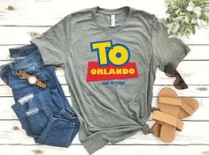 Disney Shirts Mickey shirt To Orlando shirt Minnie Head Disney Vacation Shirts, Disney World Shirts, Disney Tees, Disney Disney, Disney Family, Disney World Christmas Shirts, Disneyland Vacations, Cute Disney Shirts, Disney Apparel