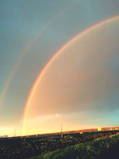Double Rainbow capture omw home