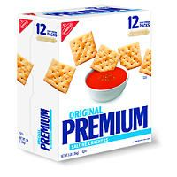 Nabisco Premium Saltine Crackers - 3 lb. box - Sams Club
