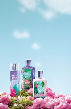 Fall in love love love with our NEW Signature scent Summer 2012— a trio of white plum, peony & vanilla musk!