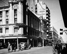 "This is a picture of Johannesburg during the when the novel took place. ""If there are taxes to be paid, there is work in Johannesburg. If the farm is too small to be divided further, some must go to Johannesburg. Johannesburg City, World History, Back In The Day, Roads, 1940s, Cry, South Africa, Sailing, Cities"