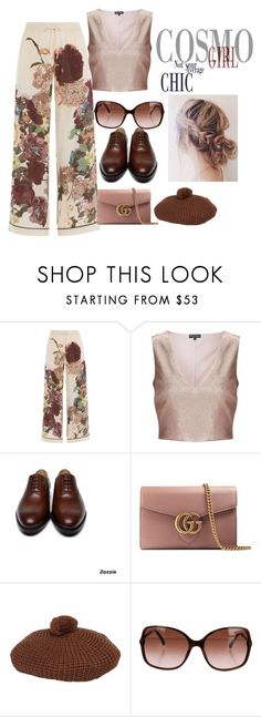 """""""Sin título #625"""" by mafer-cmxxi on Polyvore featuring moda, Valentino, Miss Selfridge, Gucci y Chanel"""
