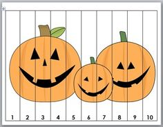 Halloween Math Number Puzzles by Marcia Murphy Halloween Math, Halloween Goodies, Halloween Party Decor, Halloween Themes, Counting Puzzles, Number Puzzles, October Crafts, Bored Kids, Pumpkin Crafts