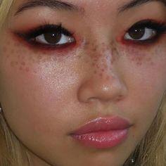 Cute Makeup Looks, Makeup Eye Looks, Creative Makeup Looks, Eye Makeup Art, Pretty Makeup, Skin Makeup, Edgy Makeup, Grunge Makeup, Makeup Goals